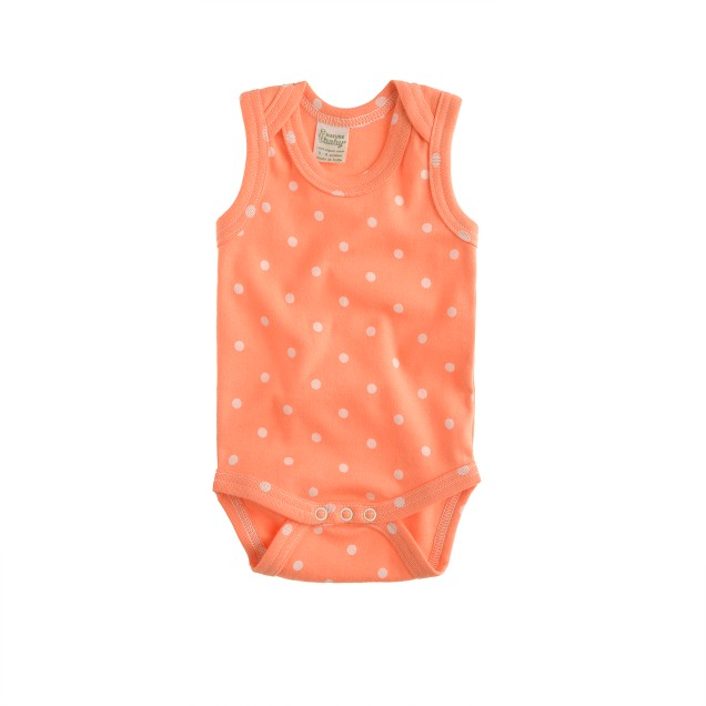 Nature Baby® for crewcuts selba dot singlet
