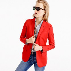 Collection Ludlow blazer in brilliant zinnia