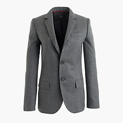 Women's Ludlow blazer in Italian wool flannel