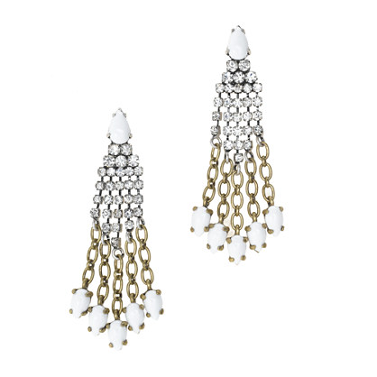 Lulu Frost for J.Crew cascade earrings