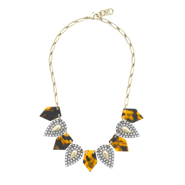 Lulu Frost for J.Crew crystal kite necklace