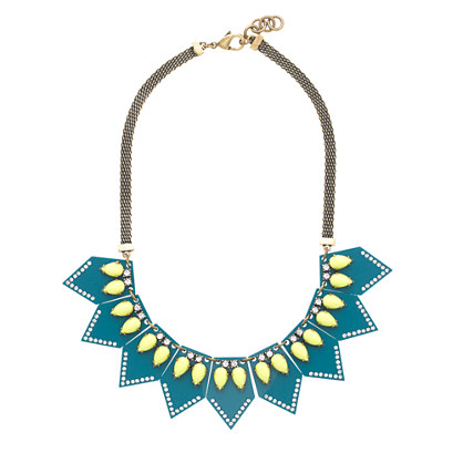 Lulu Frost for J.Crew seascape necklace