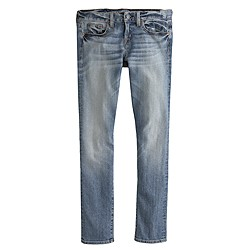 Tall selvedge toothpick jean in cherish wash
