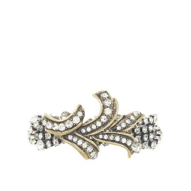 Lulu Frost for J.Crew leaf and vine bracelet