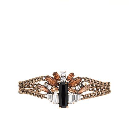 Piled stones bracelet