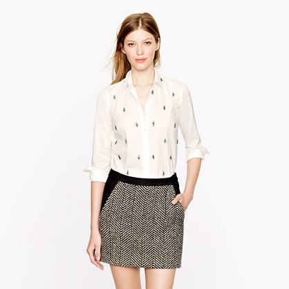 Collection jeweled shirt