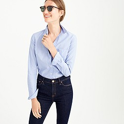 Petite everyday shirt in end-on-end cotton