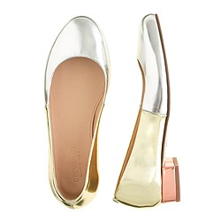 Girls' colorblock Janey flats