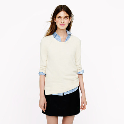 Drapey raglan sweatshirt