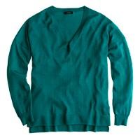 Merino V-neck boyfriend sweater