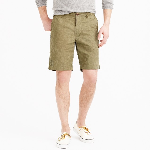 Military tent short