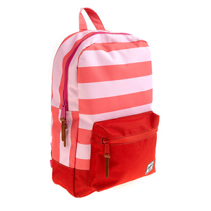 Herschel Supply Co.® for crewcuts settlement backpack in pink stripe