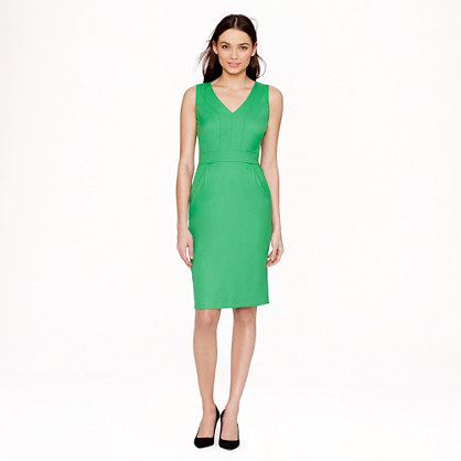 Bridget dress in Super 120s