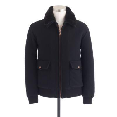 Wool Flight Jacket
