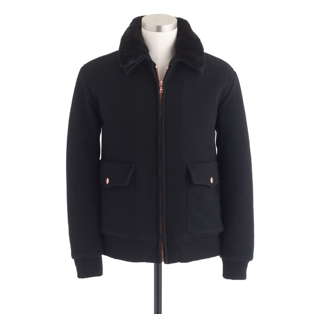 Private White V.C.™ wool flight jacket : Men J.Crew in good ...