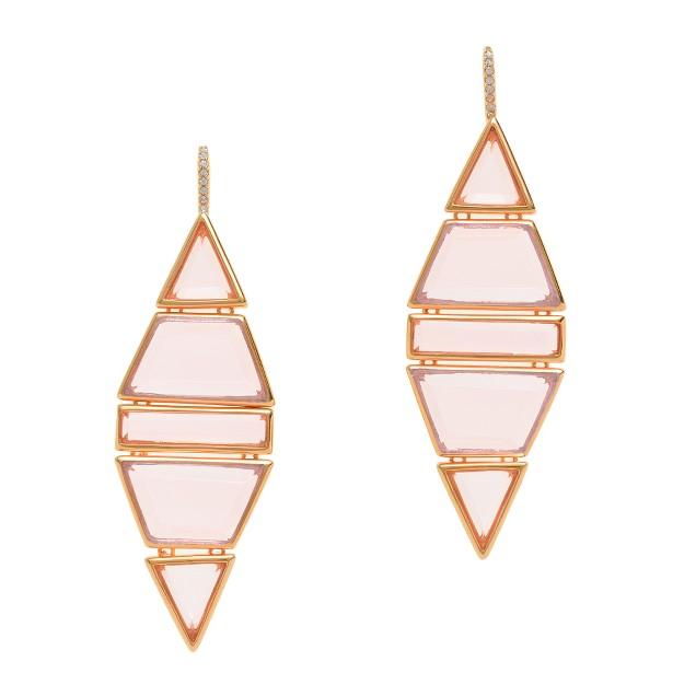 Jennifer Meyer for J.Crew Ruby dangle earrings