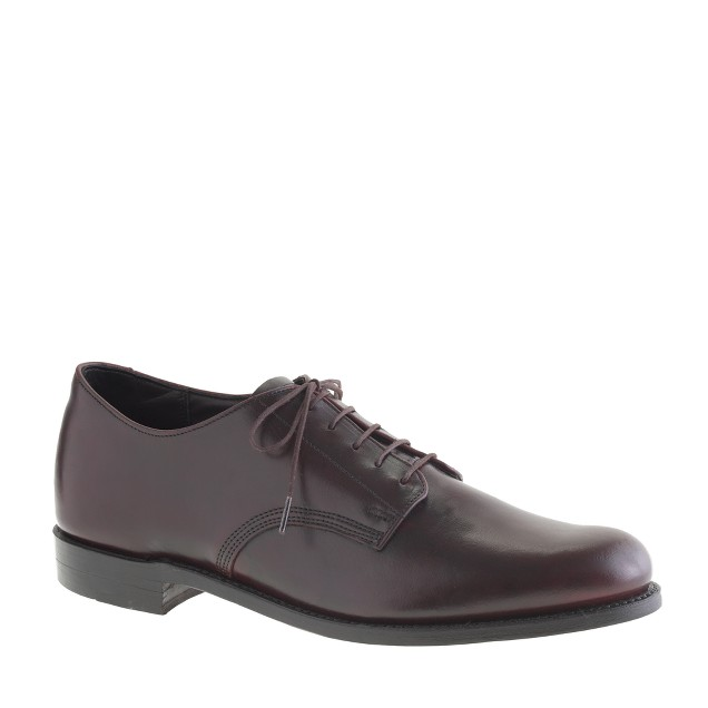 Walk-Over® plain-toe bluchers