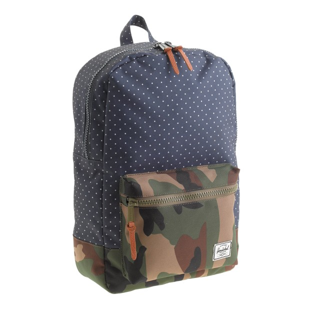 Herschel Supply Co.® for crewcuts settlement backpack in camo-dot