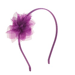 Girls' organza flower headband