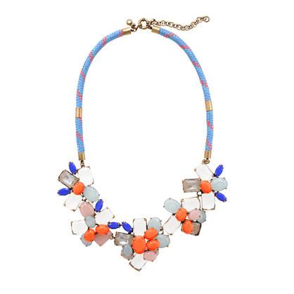 Stone mix necklace
