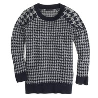 Merino Tippi sweater in houndstooth