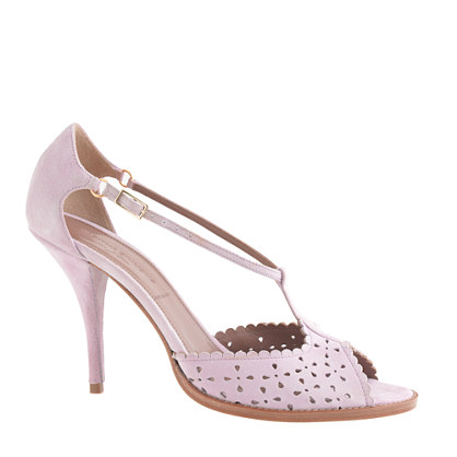 Tabitha Simmons® for J.Crew Dusty Miller high-heel sandals