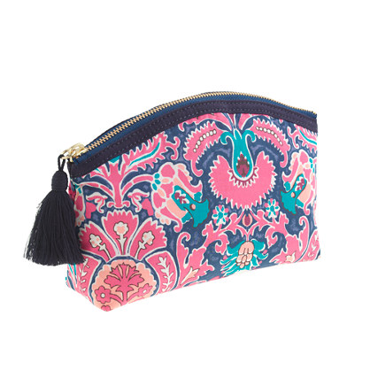 Liberty printed medium pouch
