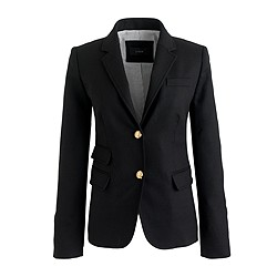 Schoolboy blazer in black