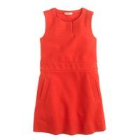 Girls' ponte shift dress
