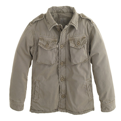 Boys' Hartford® Jarrow army jacket