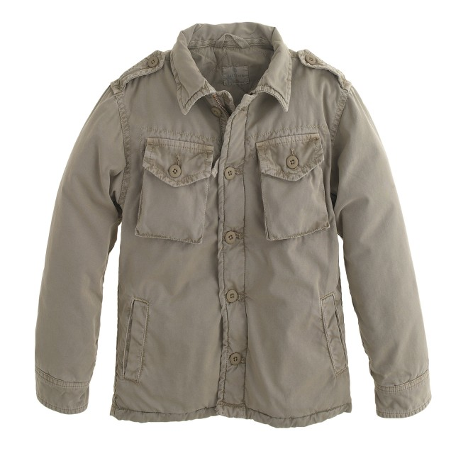 Boys' Hartford® Jarrow army jacket