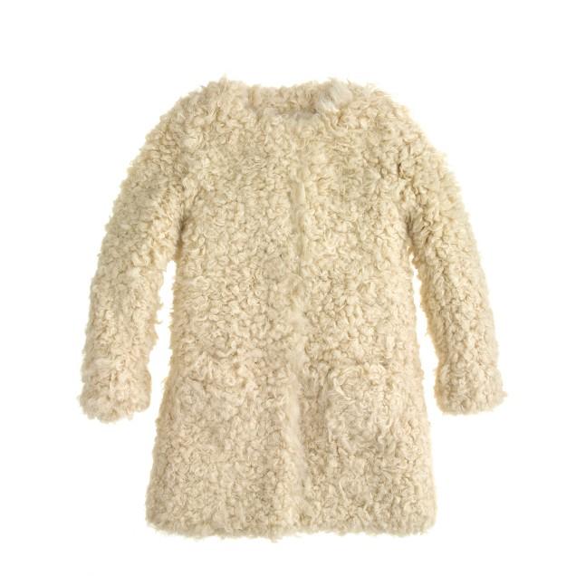Girls' Hartford® vigne coat
