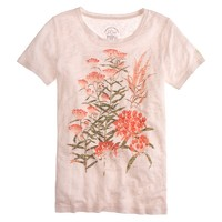 J.Crew for High Line butterfly weed tee