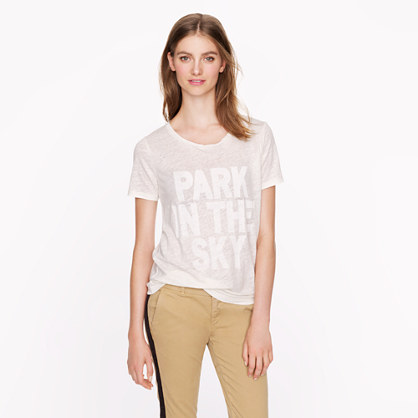 J.Crew for High Line park in the sky tee