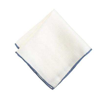 Boys' linen pocket square