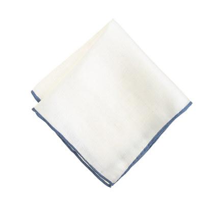 Boys' linen pocket square