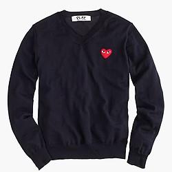 PLAY Comme des Gar�ons® V-neck sweater