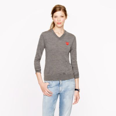 PLAY Comme des Garçons® V-neck sweater
