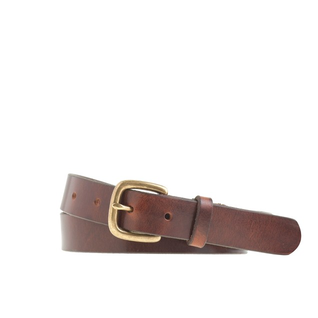 Boys' leather belt