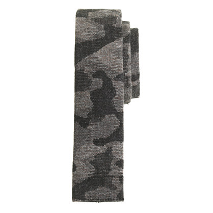 The Hill-side® woven jacquard camo tie