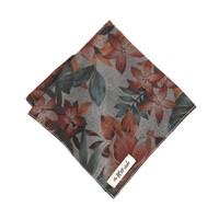 The Hill-side® winter aloha indigo chambray pocket square
