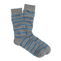 Thin-stripe socks