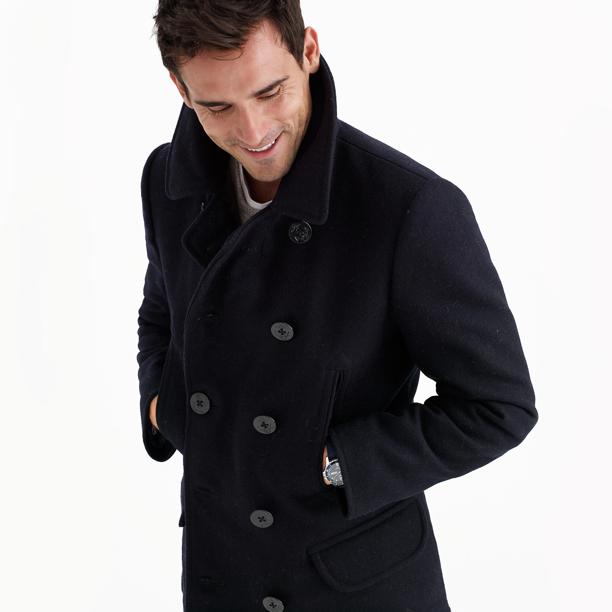 Dock peacoat with Thinsulate® : | J.Crew