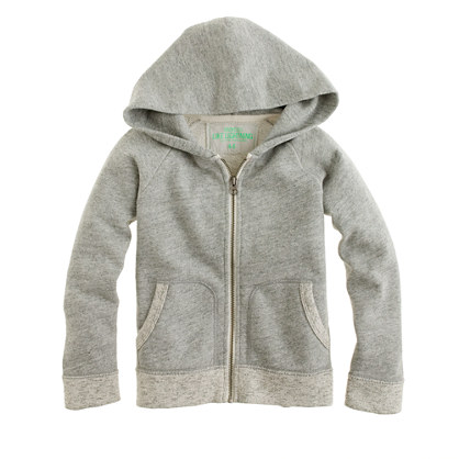 Kids' hangout zip hoodie in heather mercury