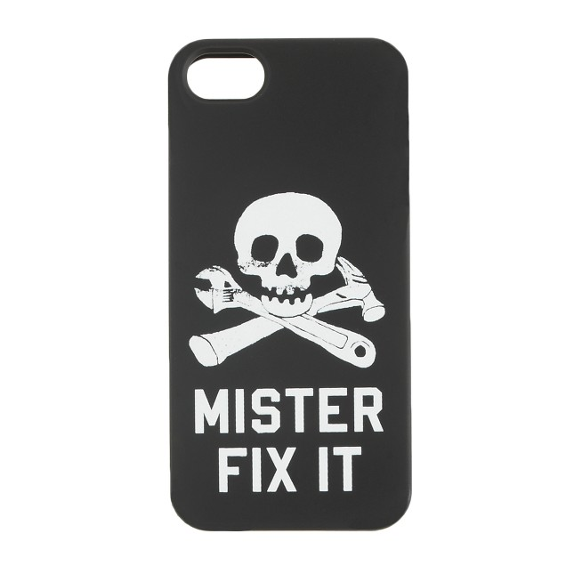 Glow-in-the-dark Mister-fix-it case for iPhone® 5/5s