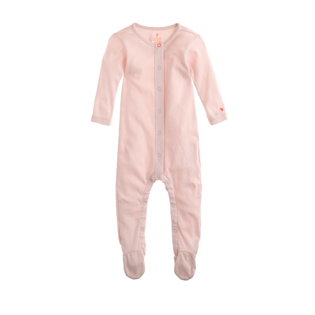 Baby footed one-piece