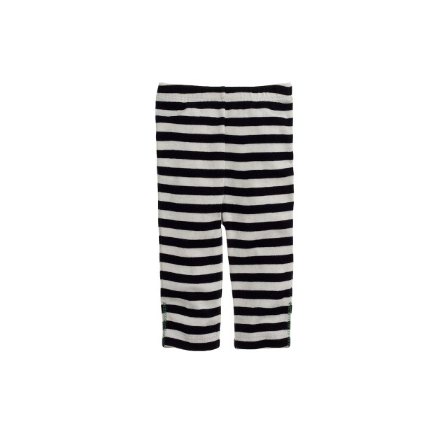 Baby pant in stripe