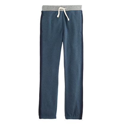 Boys' side-stripe sweatpant