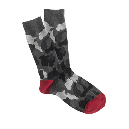 Lightweight camo socks