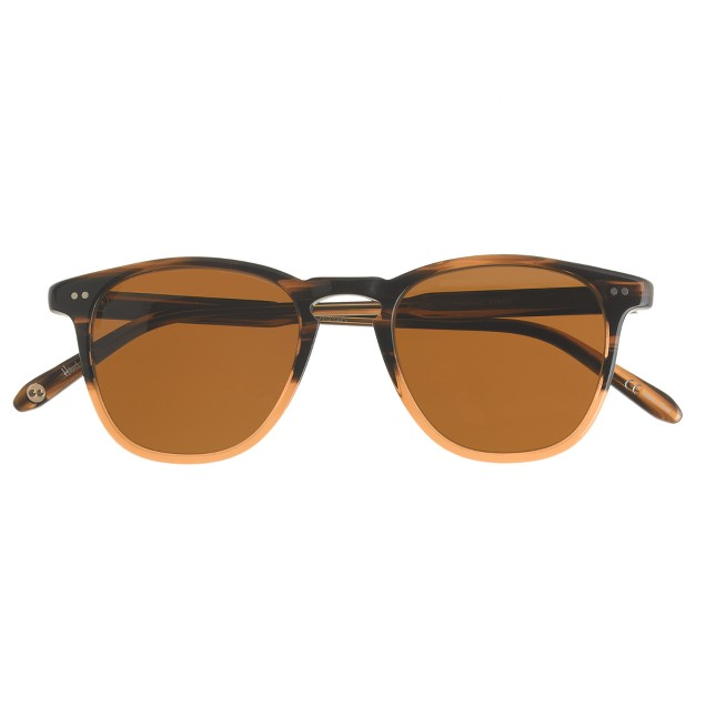 Garrett Leight™ Brooks sunglasses in java